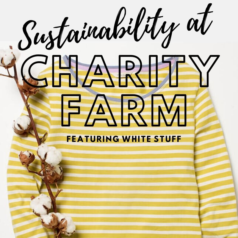 sustainability at charity farm featuring white stuff